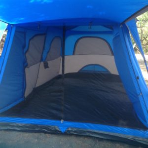 Option for tent camping available.