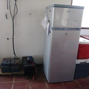 New fridge run on solar energy,