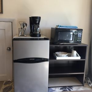 Kitchenette with every basic necessity