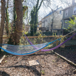 Hammocks perfect for relaxing